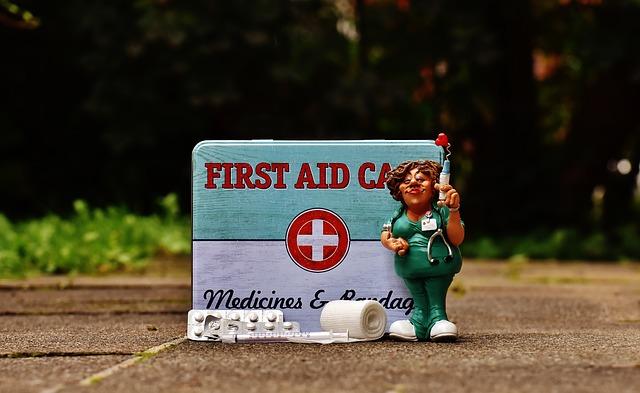 první pomoc a zdravotní sestra