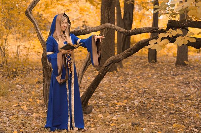 mladá čarodějka